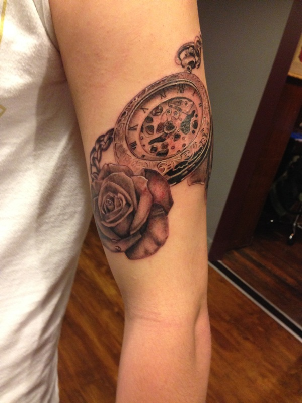 Best Time Tattoos You can't Miss (53)