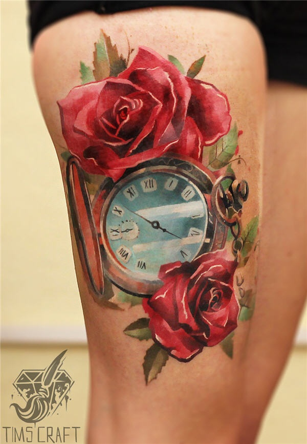 Best Time Tattoos You can't Miss (54)