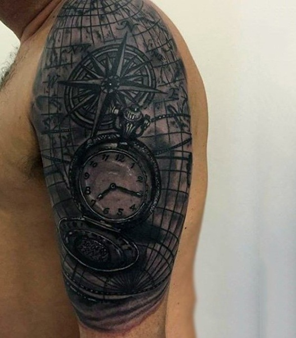 Best Time Tattoos You can't Miss (55)