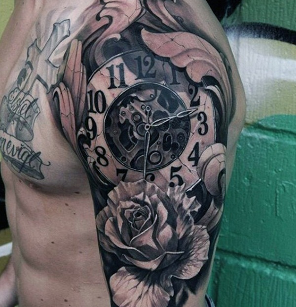 Best Time Tattoos You can't Miss (58)