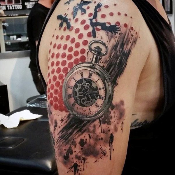 Best Time Tattoos You can't Miss (59)