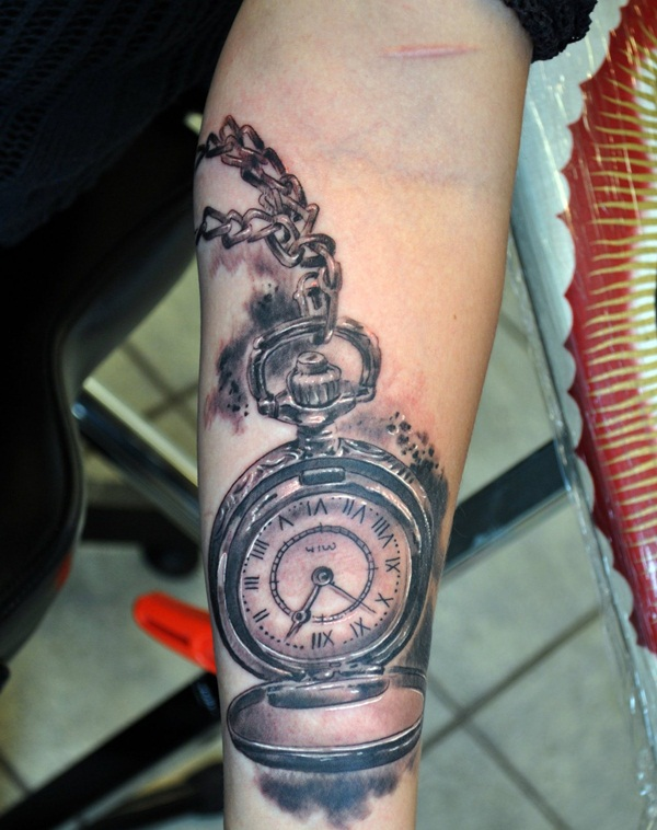 Best Time Tattoos You can't Miss (63)