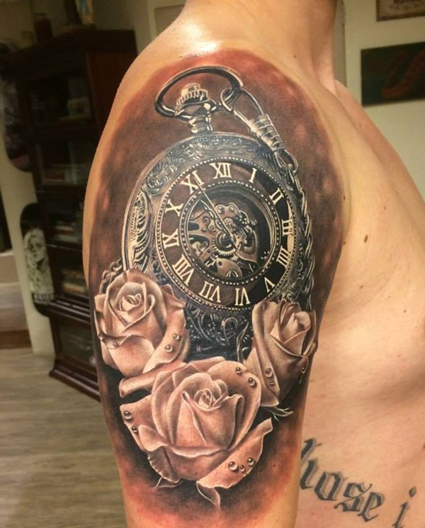 Best Time Tattoos You can't Miss (66)