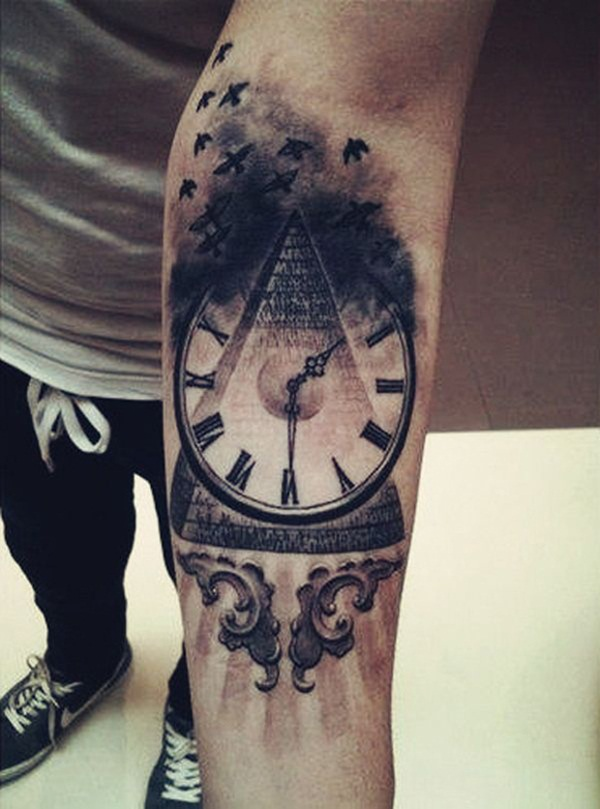 Best Time Tattoos You can't Miss (69)