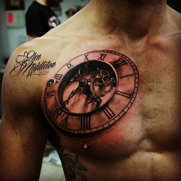 Best Time Tattoos You can't Miss (83)