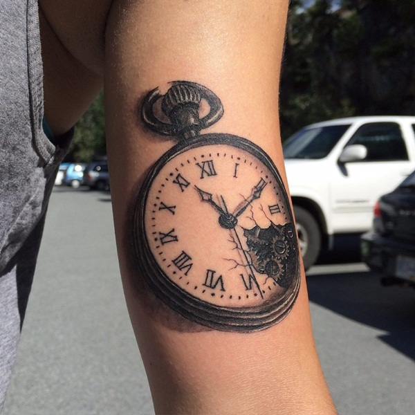 Best Time Tattoos You can't Miss (86)