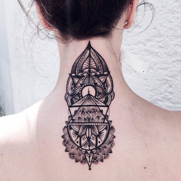 Genius Geometry Tattoo Ideas to Try This Year (100)