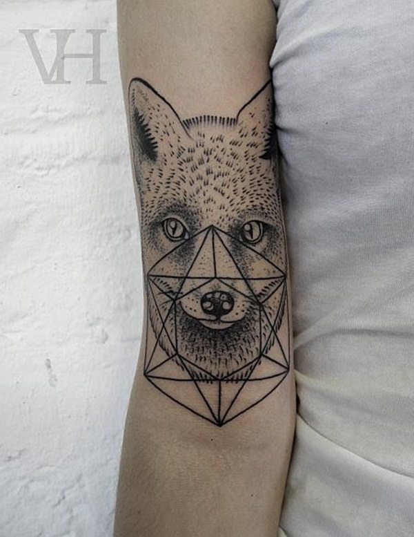 Genius Geometry Tattoo Ideas to Try This Year (103)