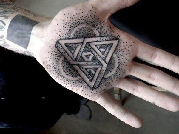 Genius Geometry Tattoo Ideas to Try This Year (110)