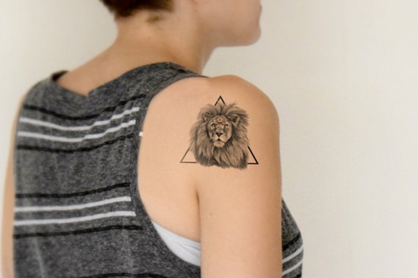 Genius Geometry Tattoo Ideas to Try This Year (111)