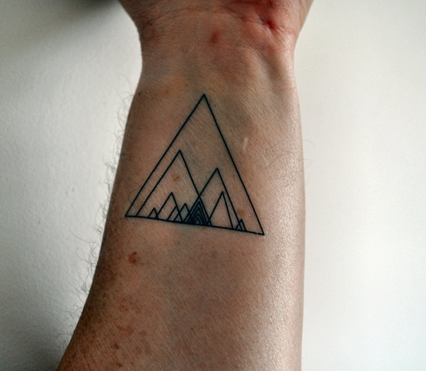 Genius Geometry Tattoo Ideas to Try This Year (112)