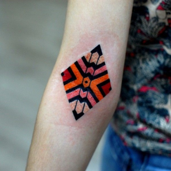 Genius Geometry Tattoo Ideas to Try This Year (114)