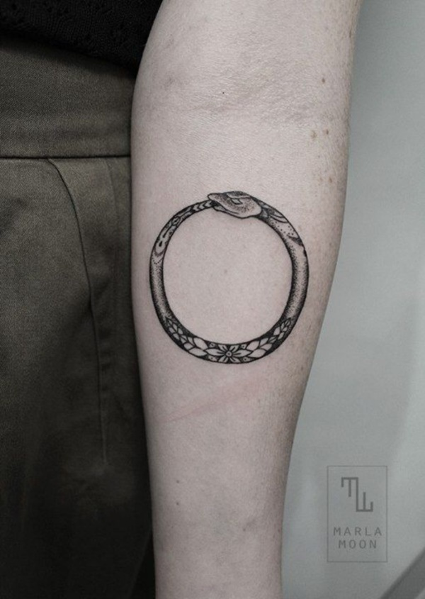 Genius Geometry Tattoo Ideas to Try This Year (115)