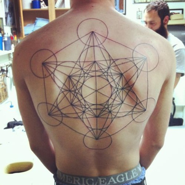 Genius Geometry Tattoo Ideas to Try This Year (119)