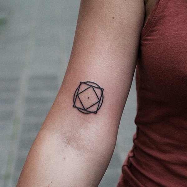 Genius Geometry Tattoo Ideas to Try This Year (122)