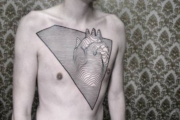 Genius Geometry Tattoo Ideas to Try This Year (123)