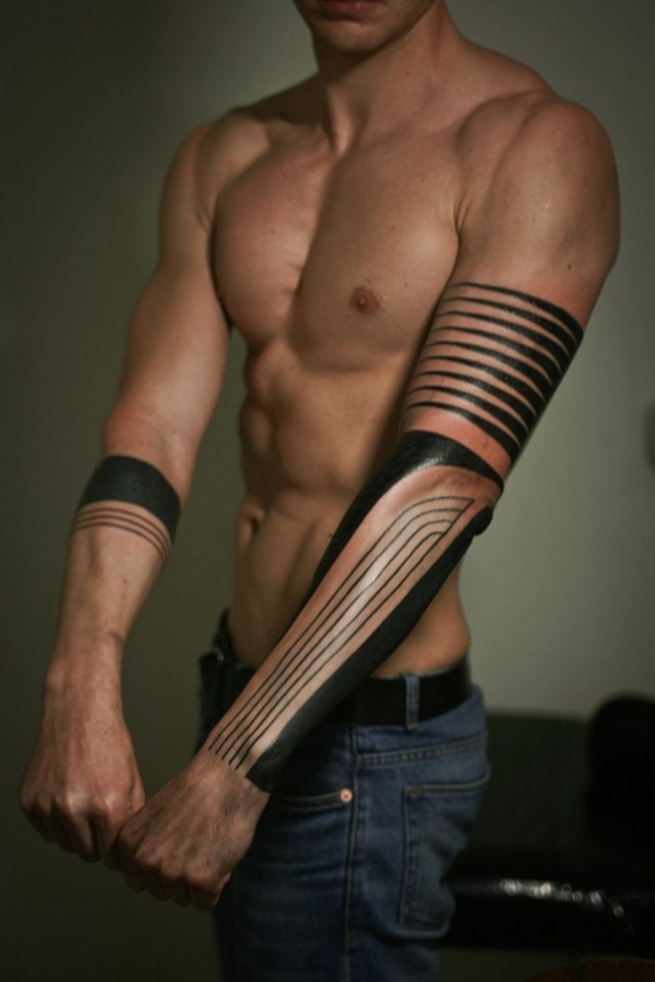 Genius Geometry Tattoo Ideas to Try This Year (126)