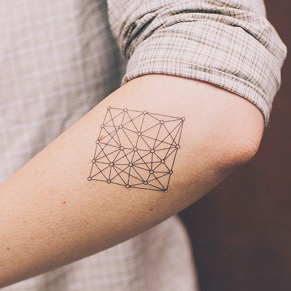 Genius Geometry Tattoo Ideas to Try This Year (129)