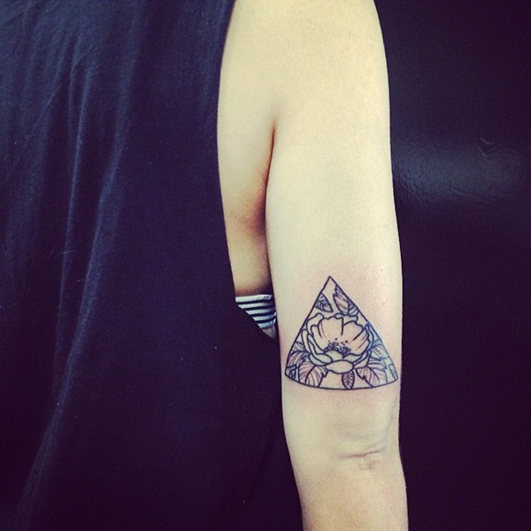Genius Geometry Tattoo Ideas to Try This Year (130)