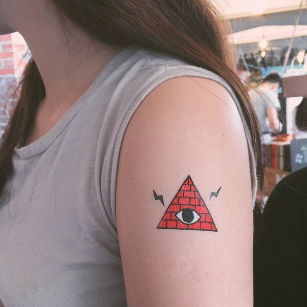 Genius Geometry Tattoo Ideas to Try This Year (131)