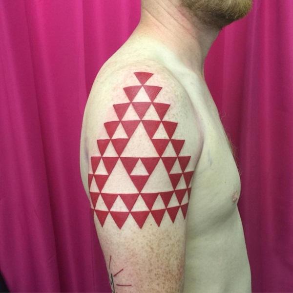 Genius Geometry Tattoo Ideas to Try This Year (133)