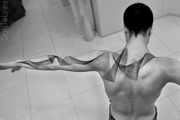 Genius Geometry Tattoo Ideas to Try This Year (49)