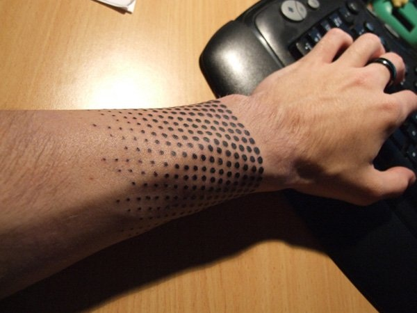 Genius Geometry Tattoo Ideas to Try This Year (51)