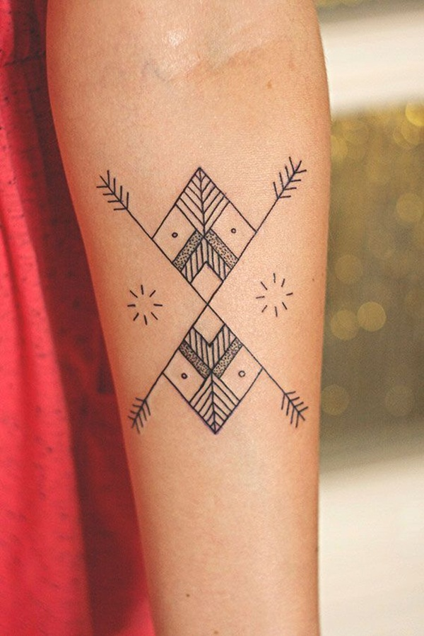Genius Geometry Tattoo Ideas to Try This Year (54)
