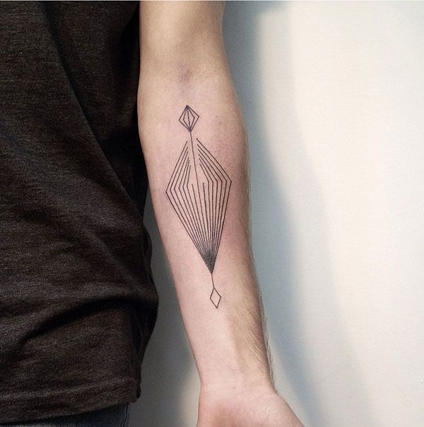 Genius Geometry Tattoo Ideas to Try This Year (55)