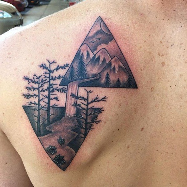Genius Geometry Tattoo Ideas to Try This Year (56)