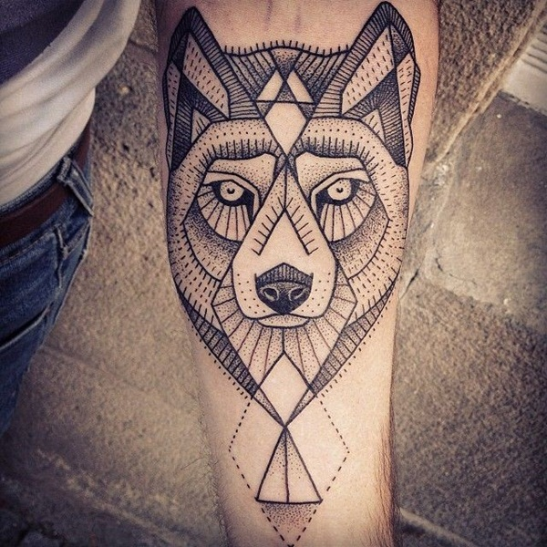 Genius Geometry Tattoo Ideas to Try This Year (65)