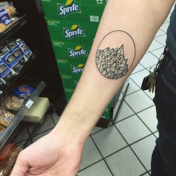 Genius Geometry Tattoo Ideas to Try This Year (69)