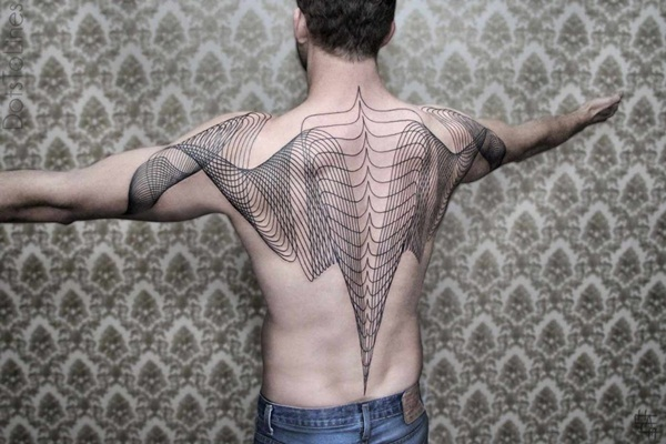 Genius Geometry Tattoo Ideas to Try This Year (77)