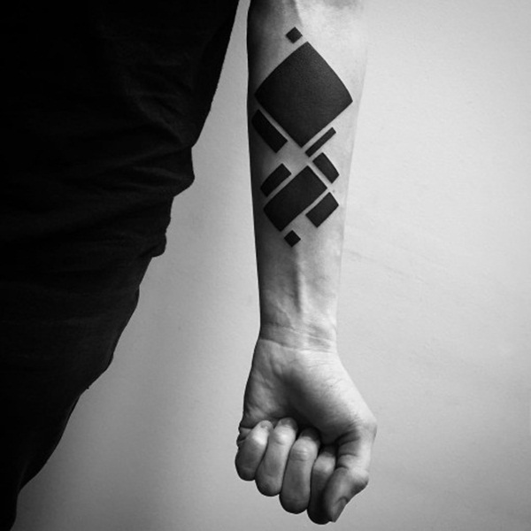 Genius Geometry Tattoo Ideas to Try This Year (79)