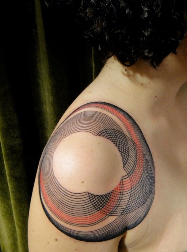 Genius Geometry Tattoo Ideas to Try This Year (93)
