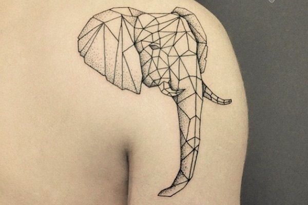 Genius Geometry Tattoo Ideas to Try This Year (94)