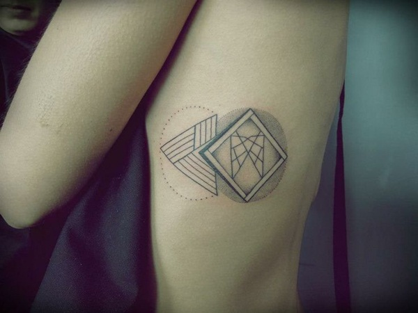Genius Geometry Tattoo Ideas to Try This Year (96)