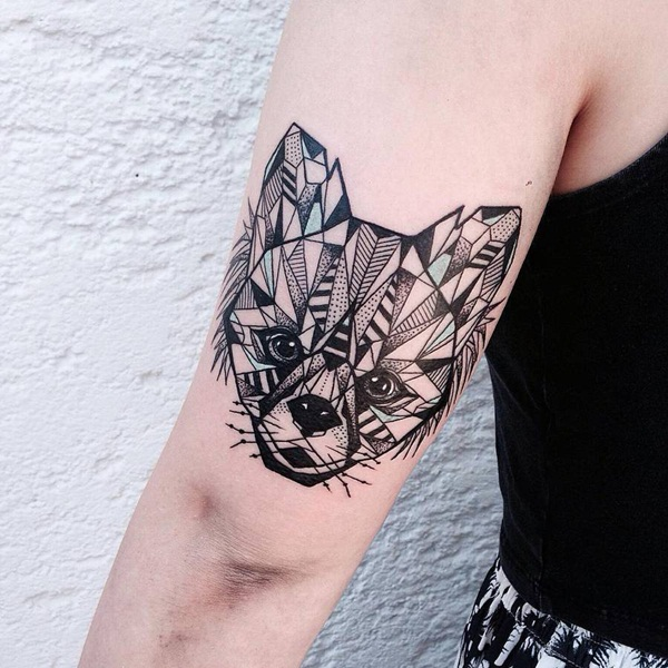 Genius Geometry Tattoo Ideas to Try This Year (99)