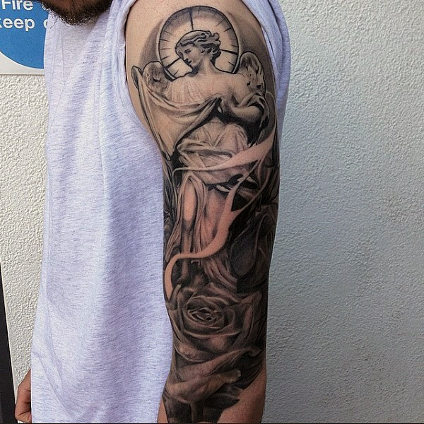 Powerful religious tattoo Designs to Try (23)