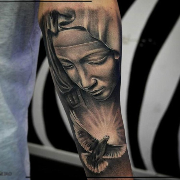 Powerful religious tattoo Designs to Try (49)