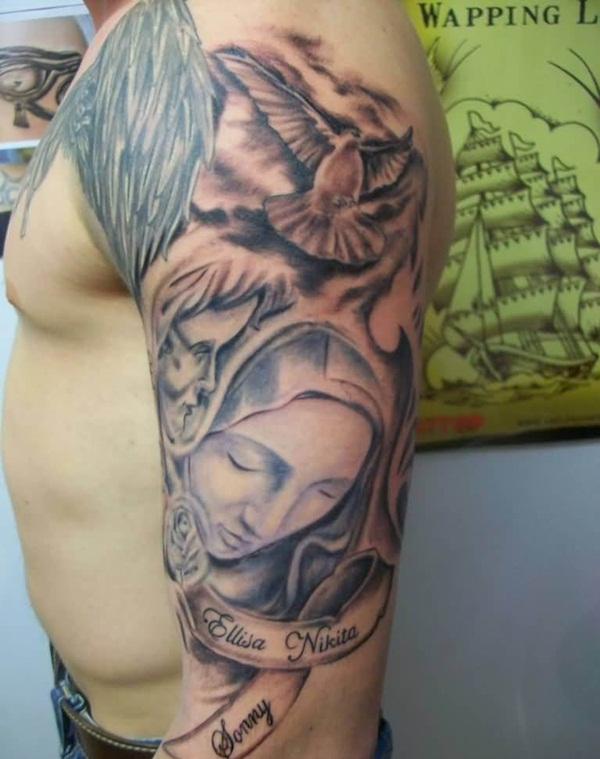 Powerful religious tattoo Designs to Try (54)