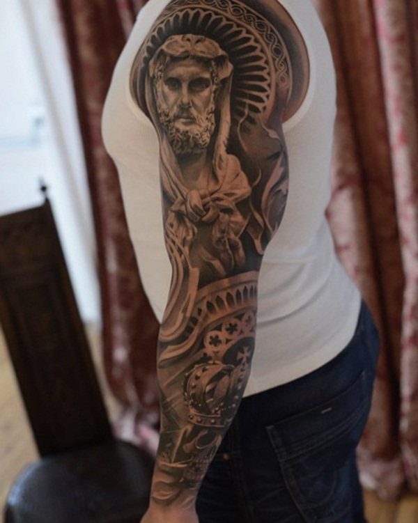 Powerful religious tattoo Designs to Try (75)