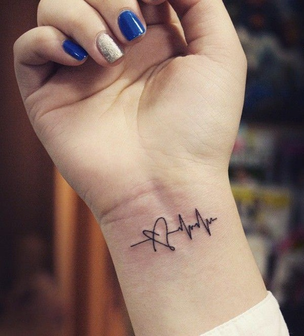Small And Simple Tattoo: 80+ Line Tattoos To Wear Symbolically