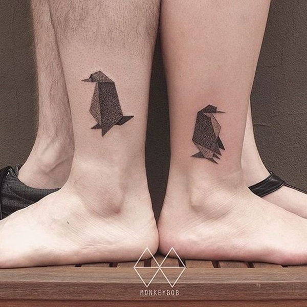 Adorable Penguin tattoo Designs (10)