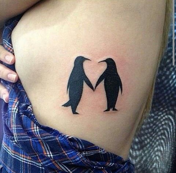 Adorable Penguin tattoo Designs (3)