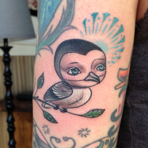 Adorable Penguin tattoo Designs (43)