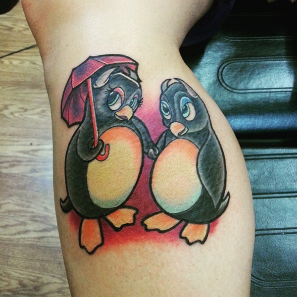 Adorable Penguin tattoo Designs (58)