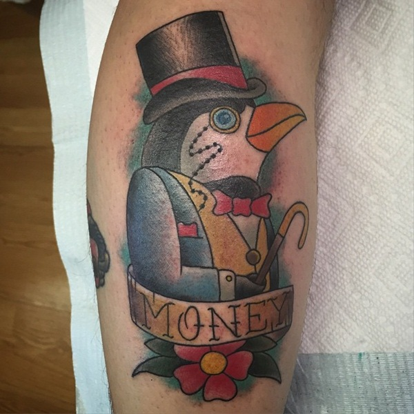 Adorable Penguin tattoo Designs (60)