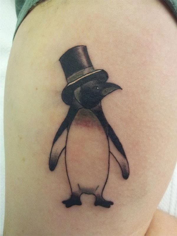 Adorable Penguin tattoo Designs (67)