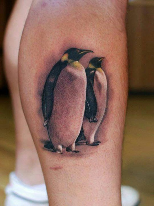 Adorable Penguin tattoo Designs (69)